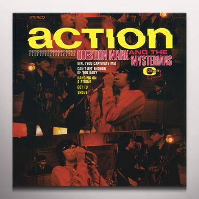 Question Mark & Mysterians ACTION  (FRPM) Vinyl Record - Colored Vinyl, Limited Edition, Yellow Vinyl