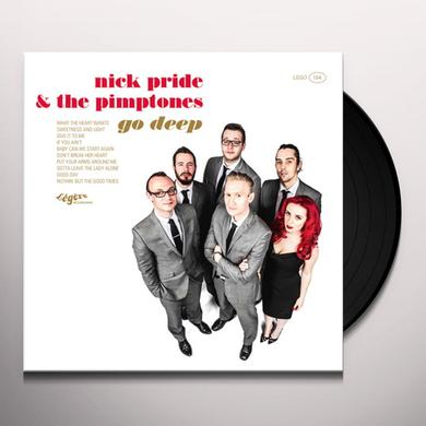 Nick Pride & The Pimptones GO DEEP Vinyl Record