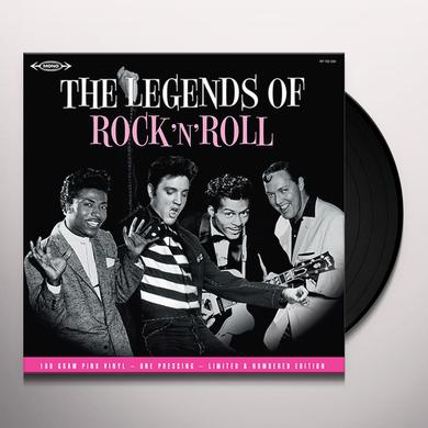 LEGENDS OF ROCK 'N' ROLL / VARIOUS (LTD) (OGV) LEGENDS OF ROCK 'N' ROLL / VARIOUS Vinyl Record - Limited Edition, 180 Gram Pressing
