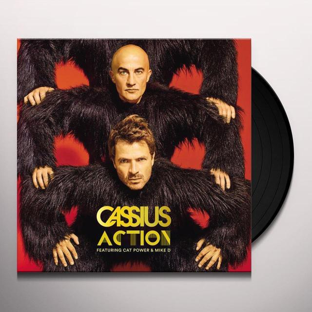 Cassius ACTION Vinyl Record