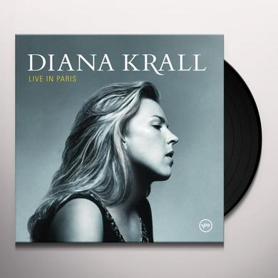 Diana Krall LIVE IN PARIS Vinyl Record - 180 Gram Pressing