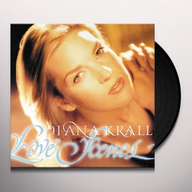 Diana Krall LOVE SCENES Vinyl Record - 180 Gram Pressing