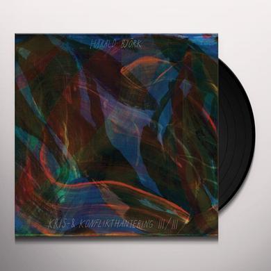 Harald Bjork KRIS & KONFLIKTHANTERING III/III Vinyl Record