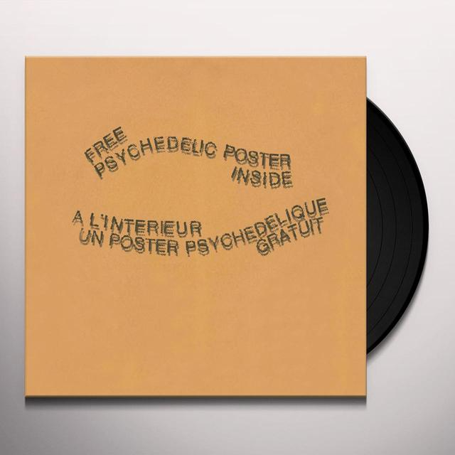 Intersystems FREE PSYCHEDELIC POSTER INSIDE Vinyl Record