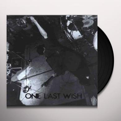 One Last Wish 1986 Vinyl Record