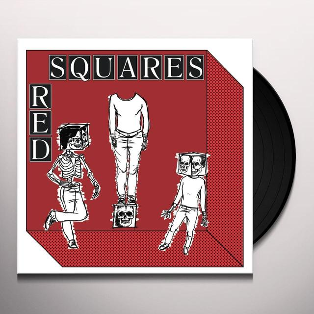 Red Squares MODERN ROLL Vinyl Record