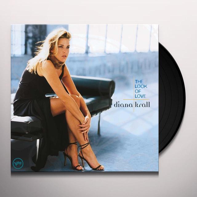 Diana Krall LOOK OF LOVE Vinyl Record - 180 Gram Pressing