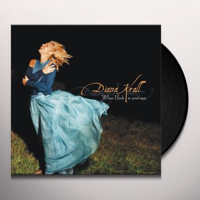 Diana Krall WHEN I LOOK IN YOUR EYES Vinyl Record