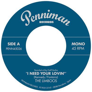 LIMBOOS I NEED YOUR LOVIN' / I'M A FOOL Vinyl Record
