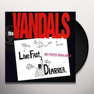 Vandals LIVE FAST DIARRHEA Vinyl Record