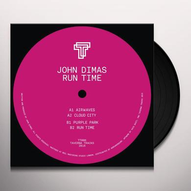 John Dimas RUN TIME Vinyl Record