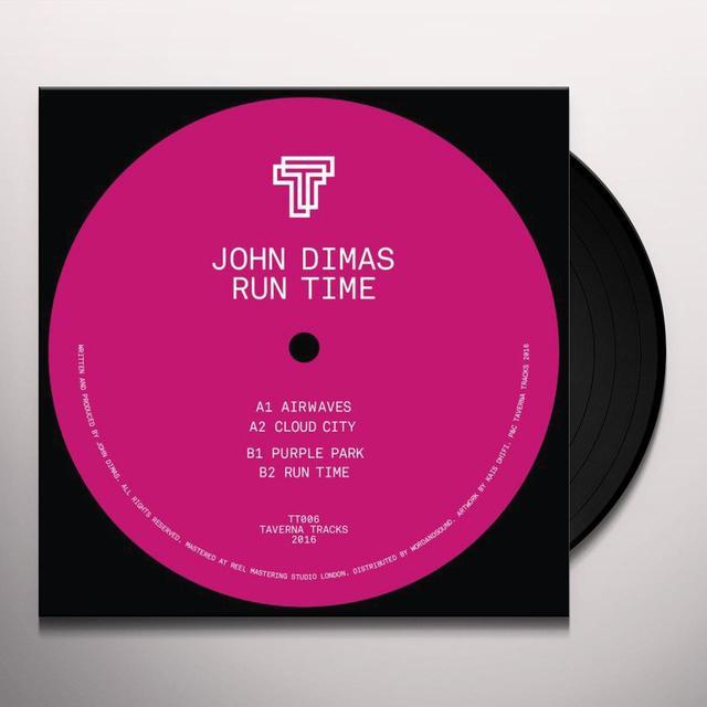 John Dimas RUN TIME Vinyl Record