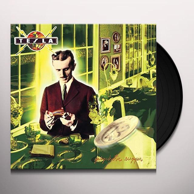 Tesla PSYCHOTIC SUPPER Vinyl Record