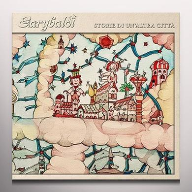 Garybaldi STORIA DI UN'ALTRA CITTA Vinyl Record - Clear Vinyl, Orange Vinyl