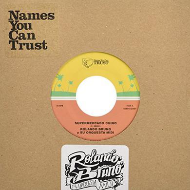 Rolando Y Su Orquesta Midi Bruno SUPERMERCADO CHINO Vinyl Record