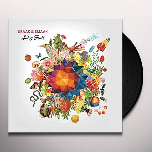 Kraak & Smaak JUICY FRUIT Vinyl Record - UK Import
