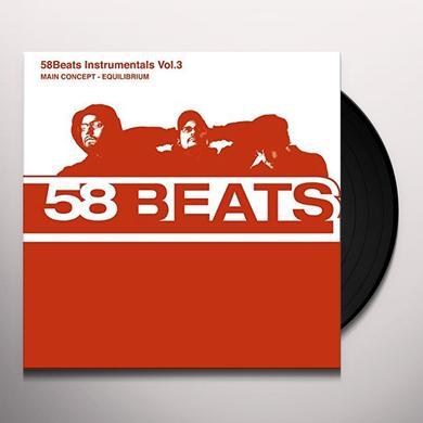 MAIN CONCEPT EQUILIBRIUM: 58 BEATS INSTRUMENTALS 3 Vinyl Record