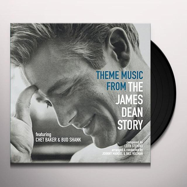 Chet Baker / Bud Shank THEME MUSIC FROM THE JAMES DEAN STORY Vinyl Record - Holland Import