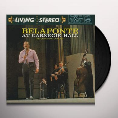 Harry Belafonte BELAFONTE AT CARNEGIE HALL Vinyl Record