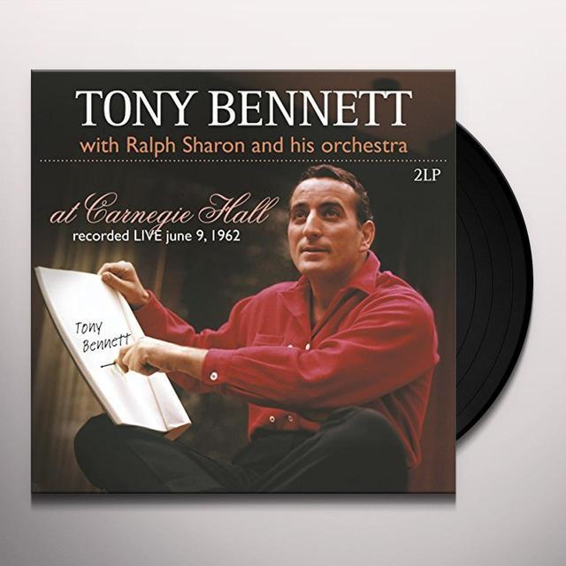 Tony Bennett / Ralph Sharon AT CARNEGIE HALL Vinyl Record - Holland Import