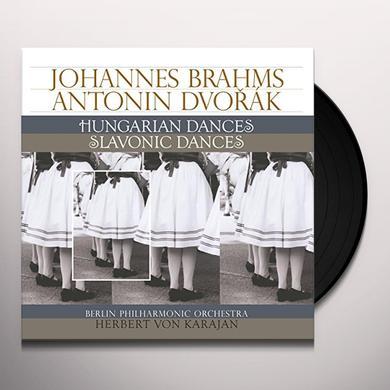 BRAHMS / DVORAK HUNGARIAN DANCES / SLAVONIC DANCES Vinyl Record - Holland Import
