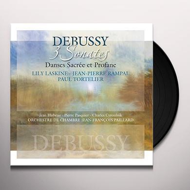 Claude Debussy 3 SONATES: DANCES SACREE ET PROFANE Vinyl Record - Holland Import