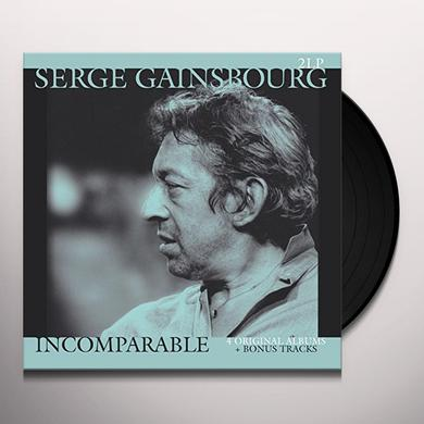 Serge Gainsbourg INCOMPARABLE: 4 ORIGINAL ALBUMS Vinyl Record