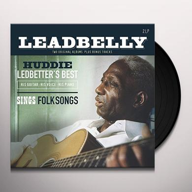 Leadbelly HUDDIE LEDBETTER'S BEST: HIS GUITAR Vinyl Record - Holland Import