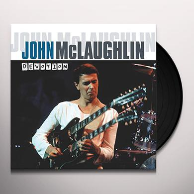 John Mclaughlin DEVOTION Vinyl Record - Holland Import