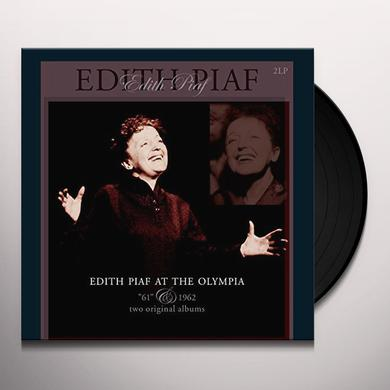 Édith Piaf AT THE OLYMPIA: 1961 & 1962 Vinyl Record