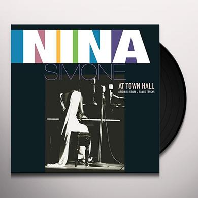 Nina Simone AT TOWN HALL Vinyl Record
