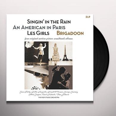 SINGIN IN THE RAIN / AMERICAN IN PARIS / O.S.T. Vinyl Record