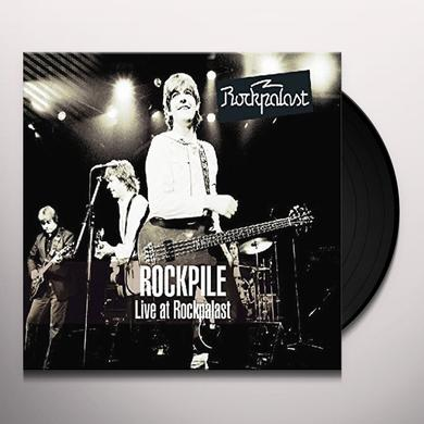 Rockpile LIVE AT ROCKPALAST 1980 Vinyl Record