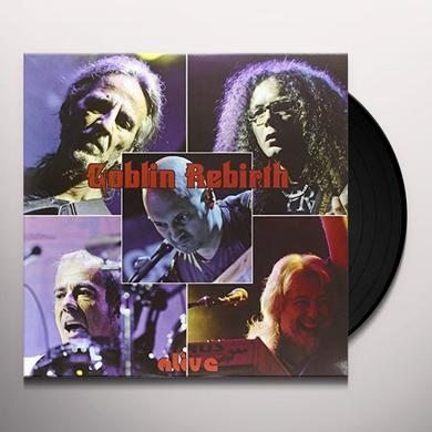 GOBLIN REBIRTH ALIVE Vinyl Record - Italy Import