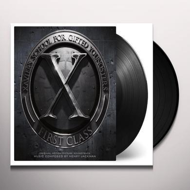 Henry Jackman X-MEN: FIRST CLASS / O.S.T. Vinyl Record - Gatefold Sleeve, Limited Edition, 180 Gram Pressing
