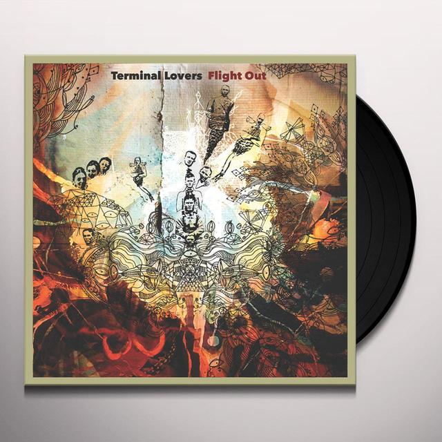 TERMINAL LOVERS FLIGHT OUT Vinyl Record - Limited Edition