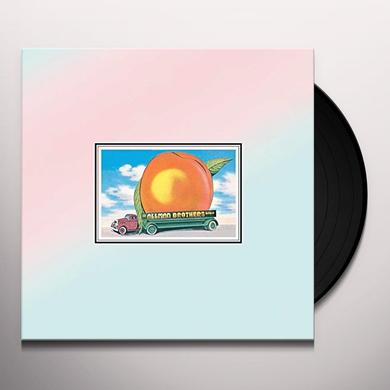Allman brothers band EAT A PEACH Vinyl Record - 180 Gram Pressing