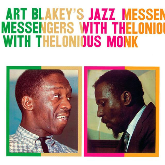 ART BLAKEY'S JAZZ MESSENGERS WITH THELONIOUS MONK Vinyl Record