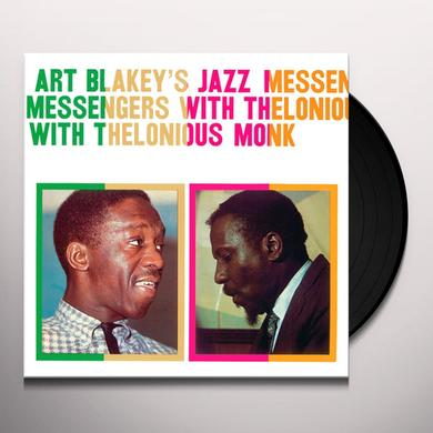 ART BLAKEY'S JAZZ MESSENGERS WITH THELONIOUS MONK Vinyl Record