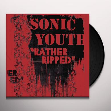 Sonic Youth RATHER RIPPED Vinyl Record