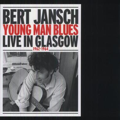 Bert Jansch YOUNG MAN BLUES: LIVE IN GLASGOW Vinyl Record