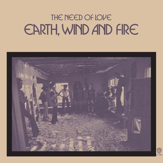Earth Wind & Fire NEED OF LOVE Vinyl Record