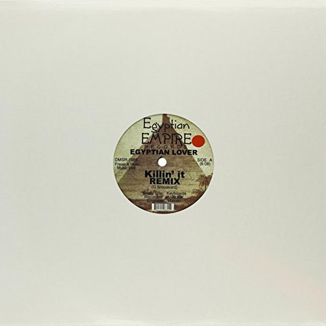 Egyptian Lover KILLIN' IT (REMIX) / TRYIN TO TELL YA Vinyl Record