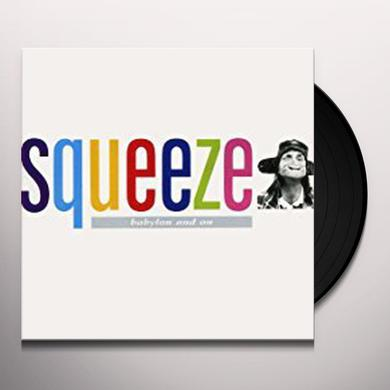 Squeeze BABYLON AND ON Vinyl Record