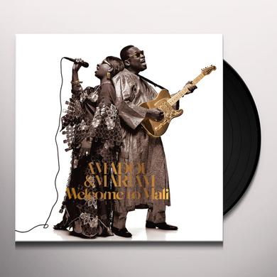 Amadou & Mariam WELCOME TO MALI Vinyl Record - w/CD