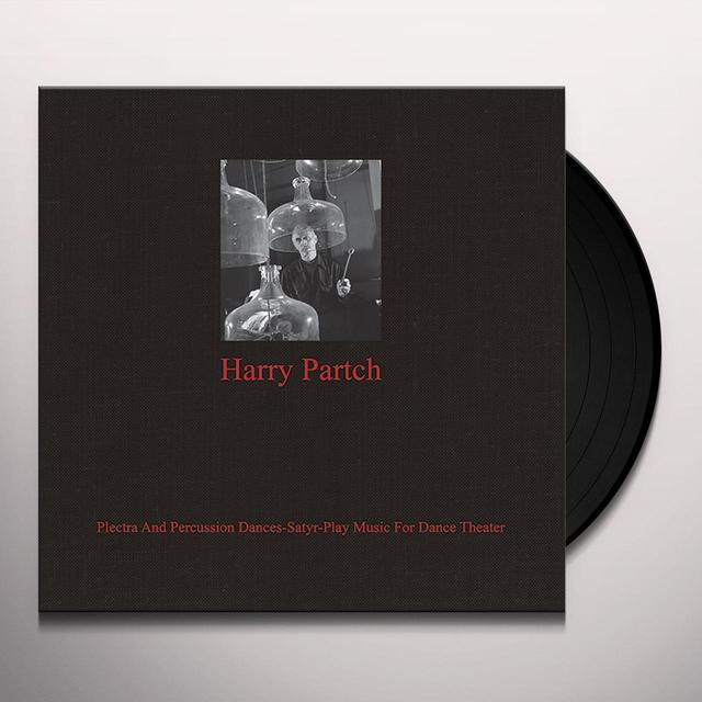 Harry Partch PLECTRA AND PERCUSSION DANCES SATYR-PLAY MUSIC FOR Vinyl Record