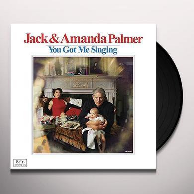 Jack Palmer / Amanda Palmer YOU GOT ME SINGING Vinyl Record