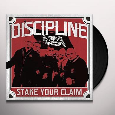 Discipline STAKE YOUR CLAIM Vinyl Record
