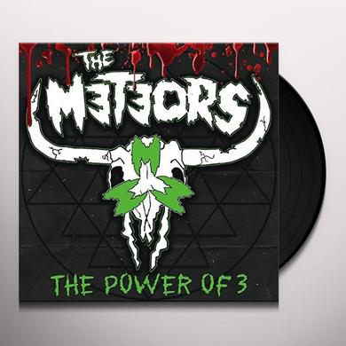 The Meteors POWER OF 3 Vinyl Record