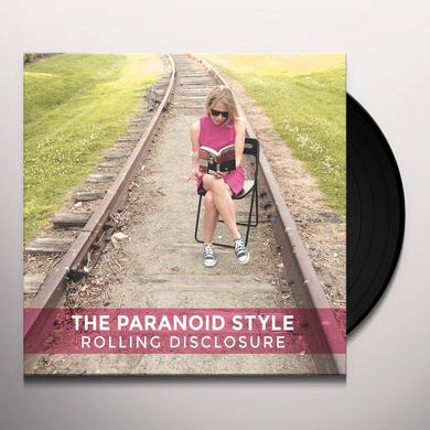PARANOID STYLE ROLLING DISCLOSURE Vinyl Record